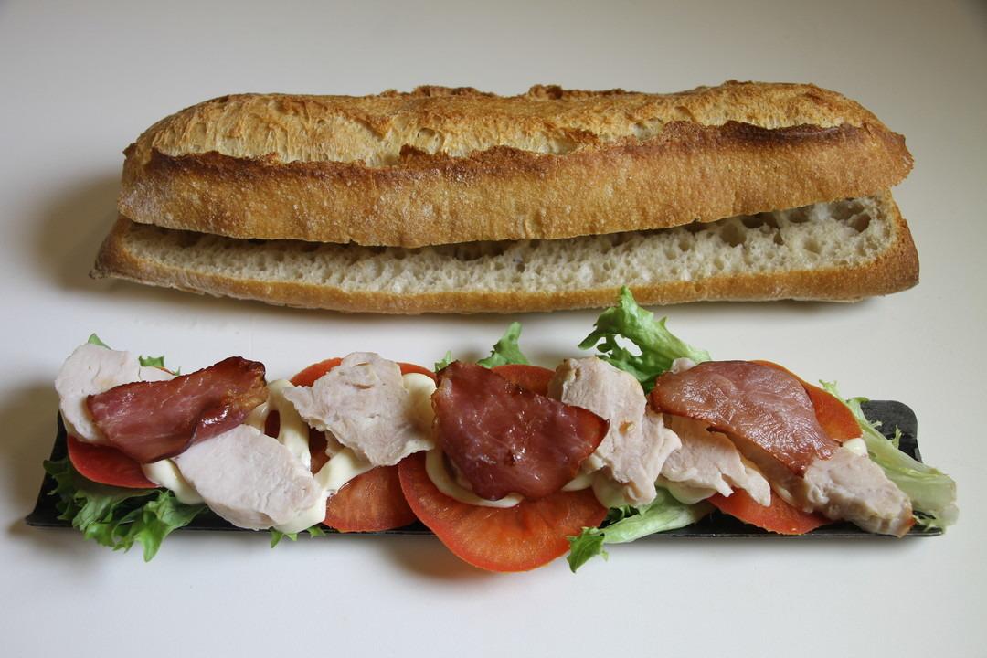 Poulet bacon - Bakeronline