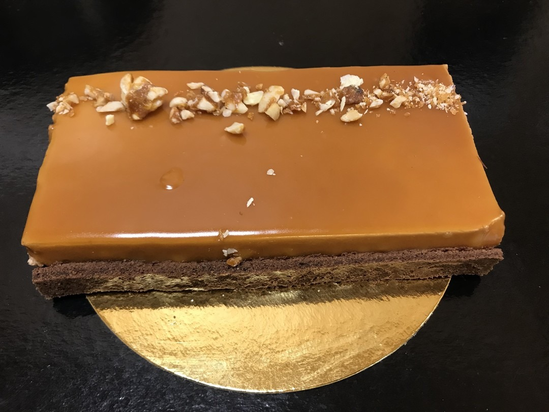 gâteau façon snickers - Bakeronline