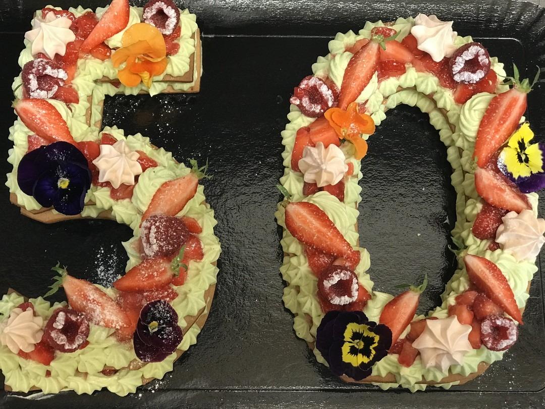 number cake - Bakeronline