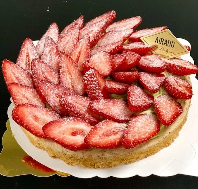 macaronade fraises - Bakeronline