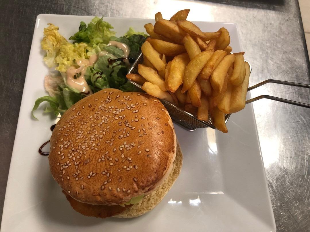 Chicken burger - Bakeronline