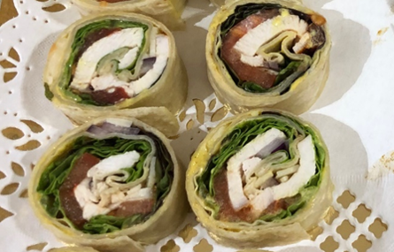 Chicken wrap - Bakeronline