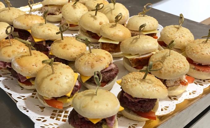 Mini burgers - Bakeronline