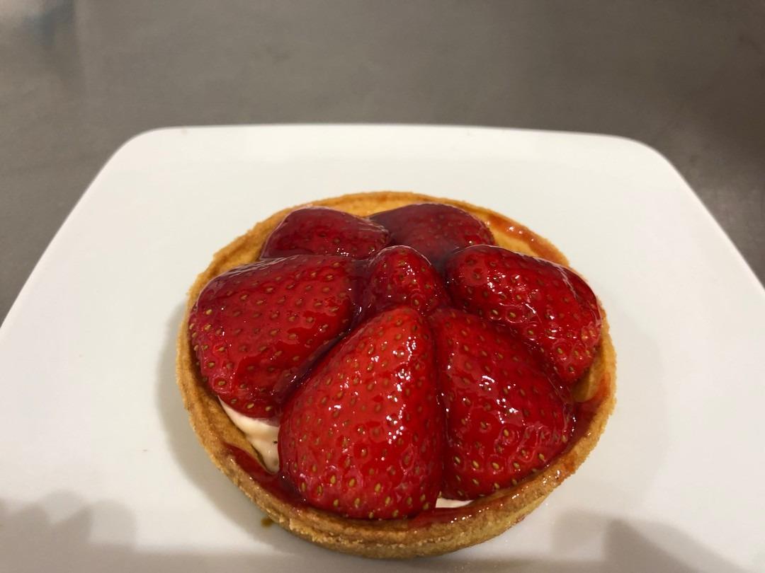 Small strawberry tart - Bakeronline