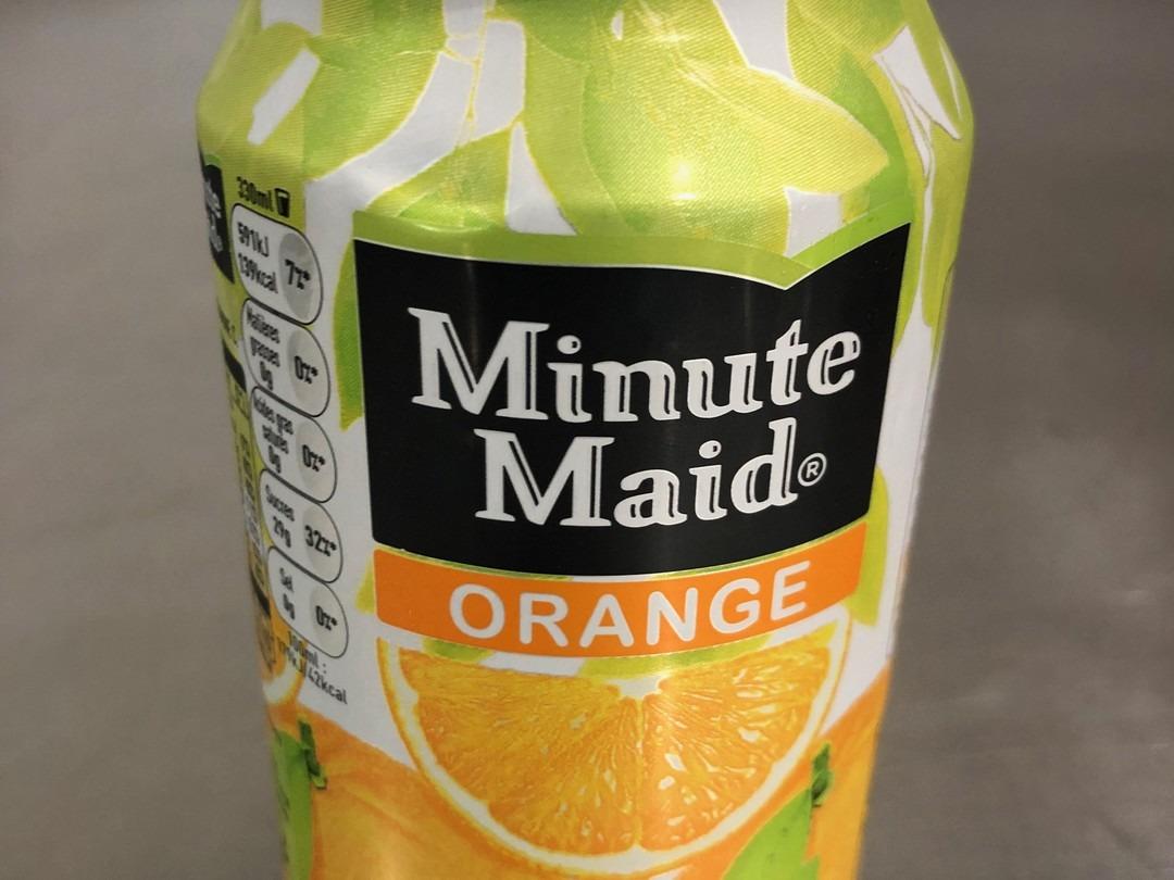 Minute maid orange 33cl - Bakeronline