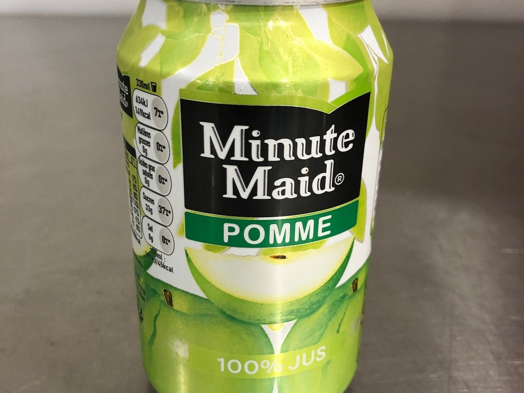 Minute maid apple 33cl - Bakeronline