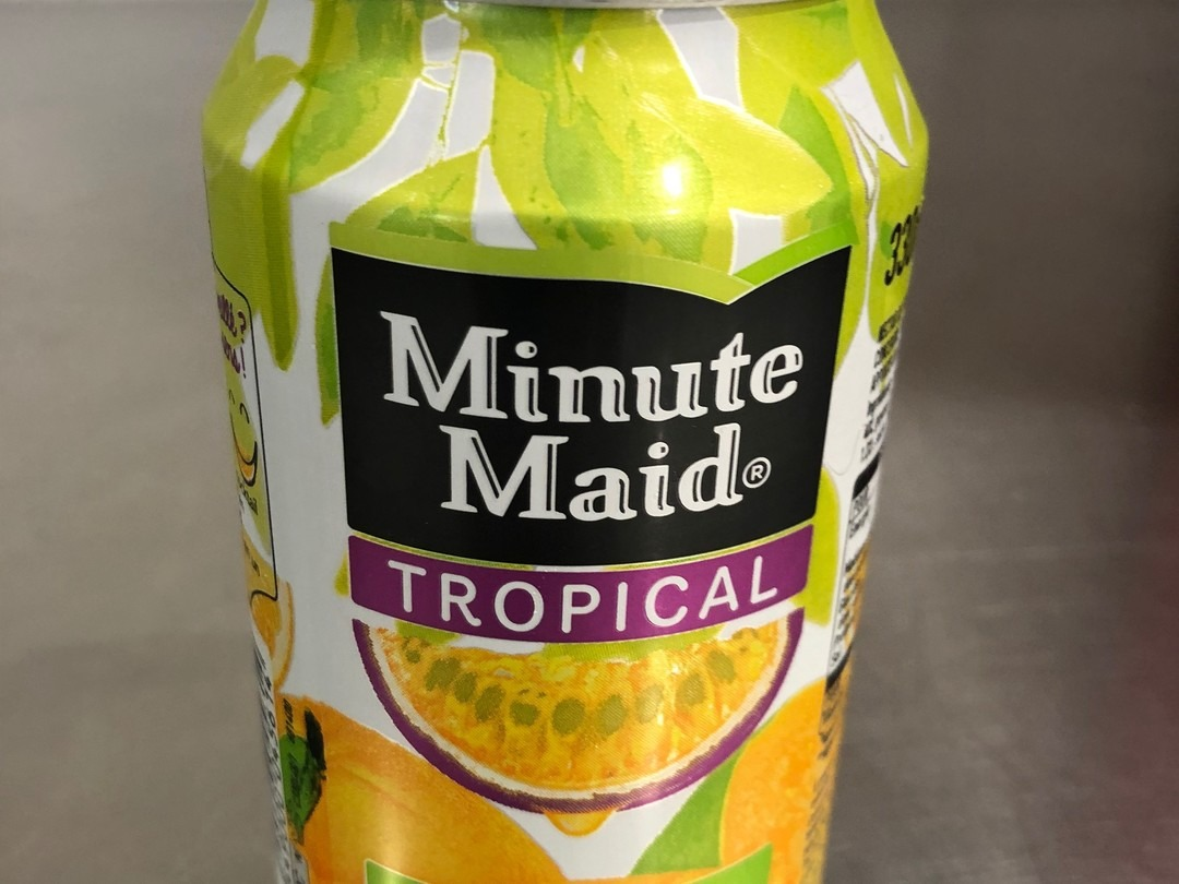 Minute maid tropical 33cl - Bakeronline