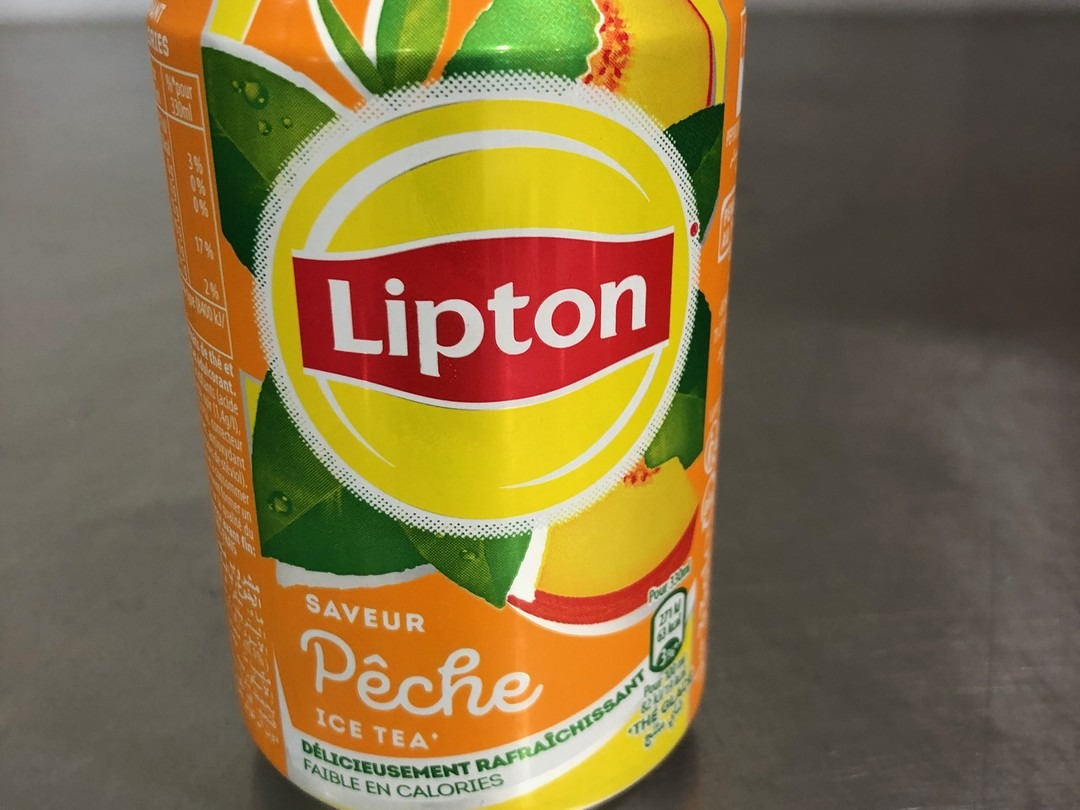 Peach lipton iced tea 33cl - Bakeronline