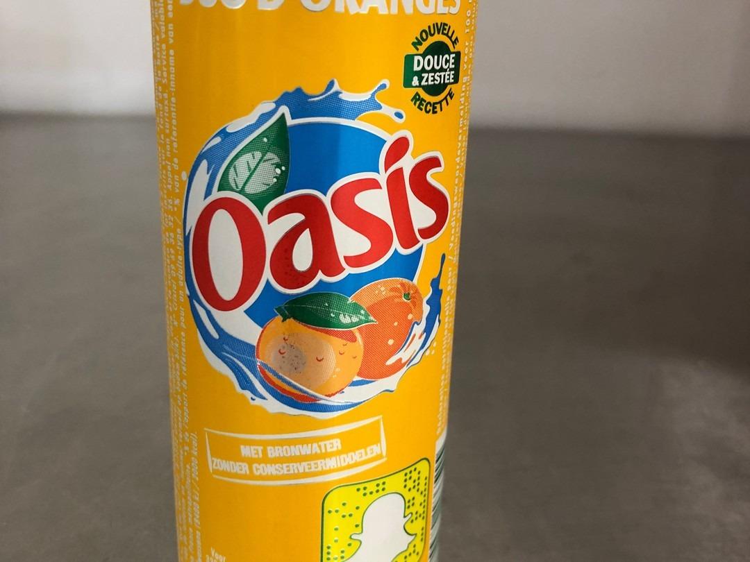 Oasis orange 33cl - Bakeronline