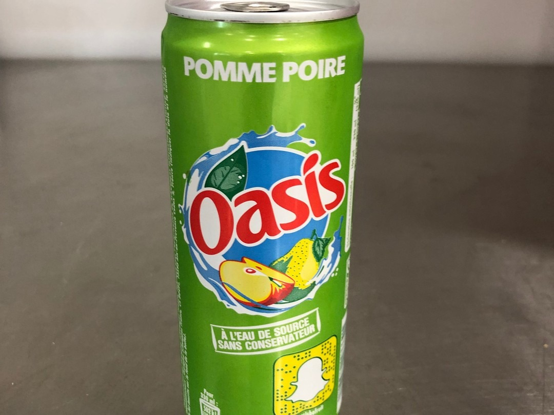 Oasis apple and pear 33cl - Bakeronline