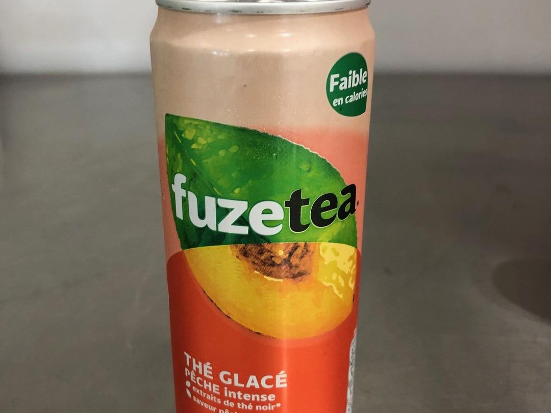 Peach fuze tea 33cl - Bakeronline