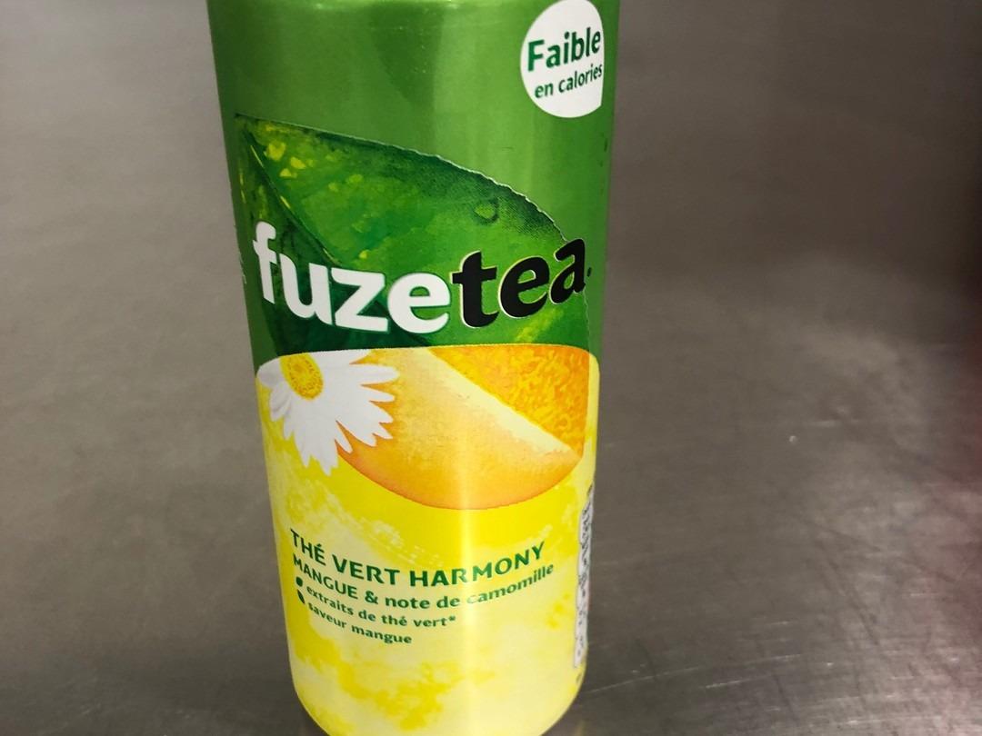 Mango Fuze tea 33cl - Bakeronline