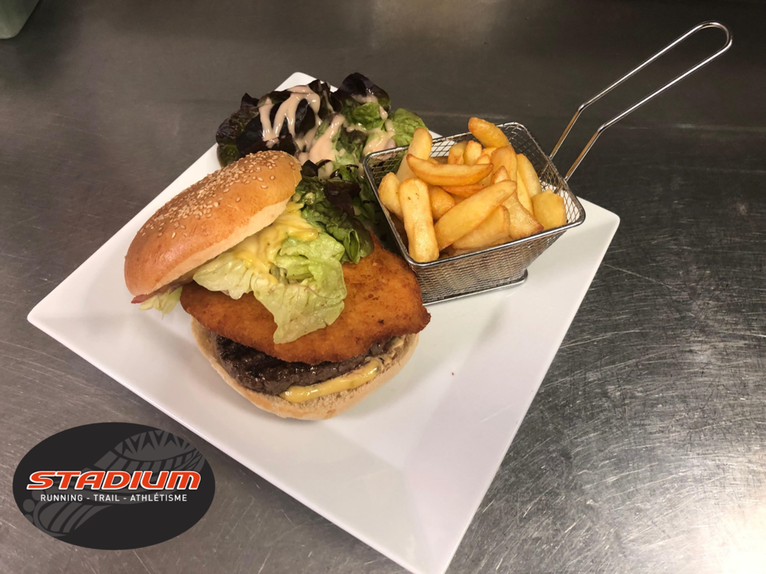 Stadium's burger - Bakeronline