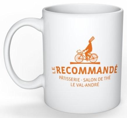 "Mug ""Le recommandé"" - Bakeronline"