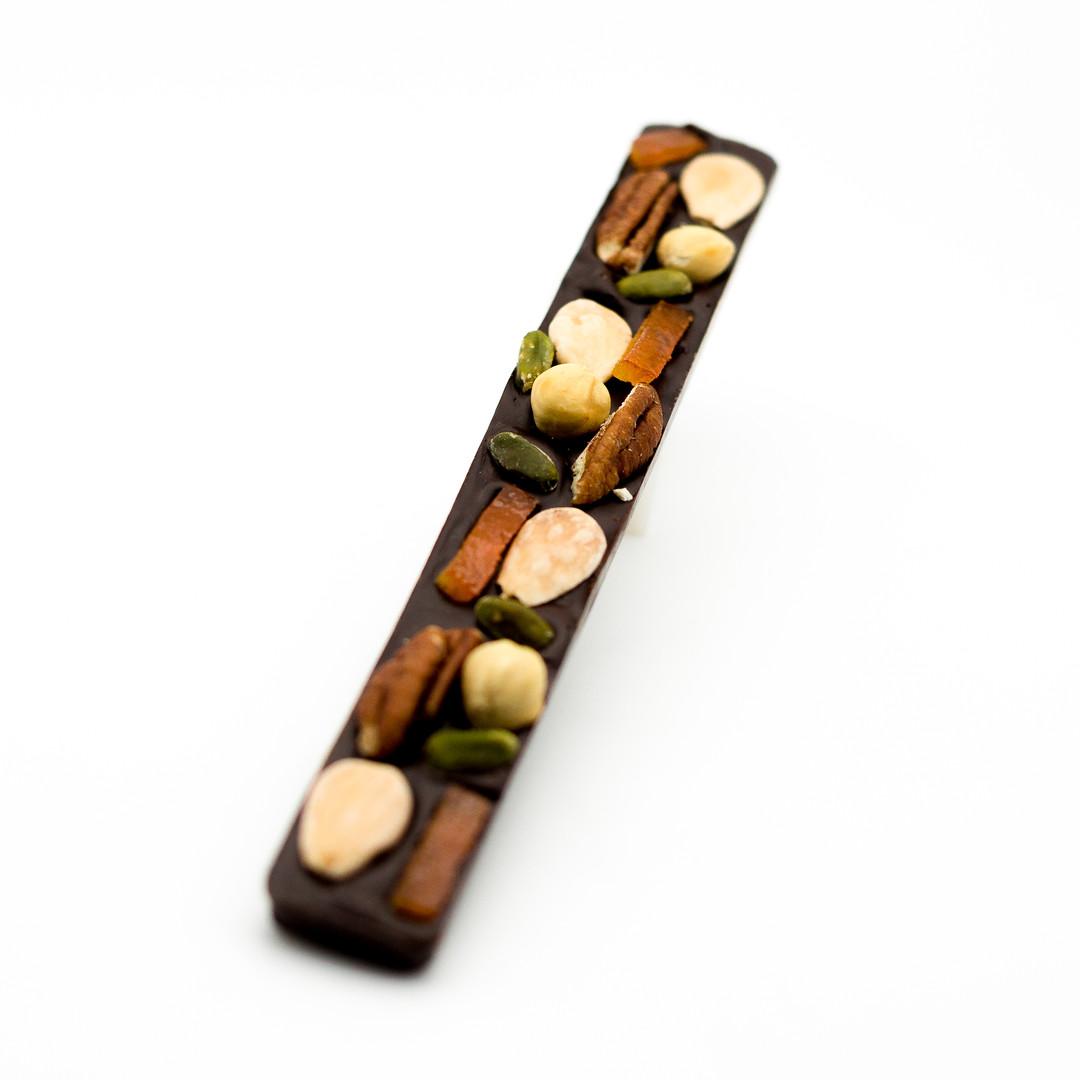 Barre Aux Fruits Chocolat Noir ou Lait - Bakeronline